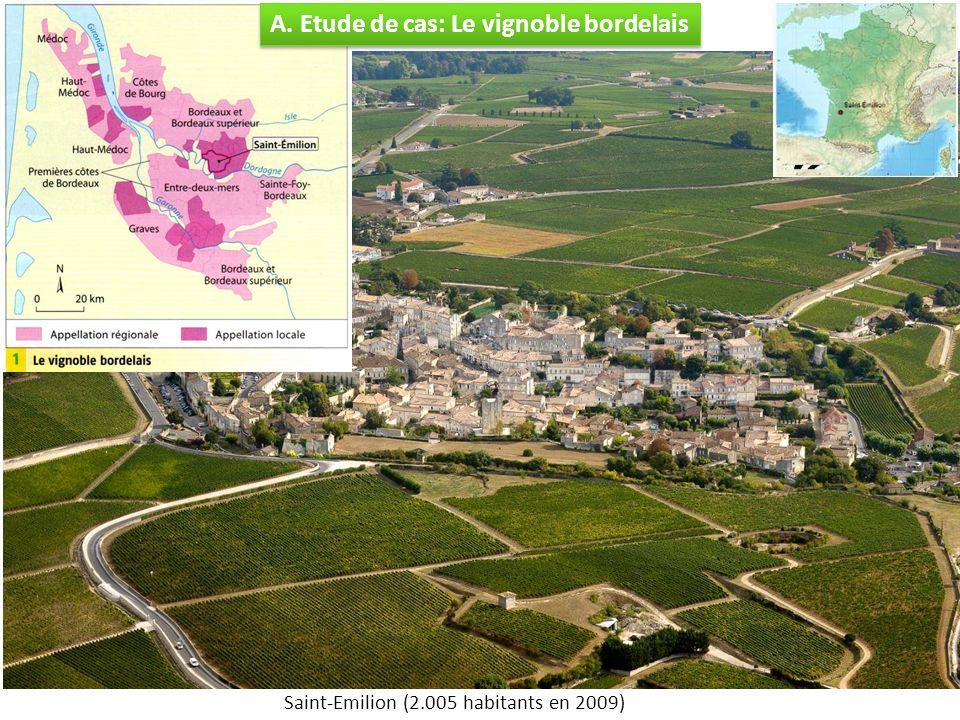 A. Etude de cas: Le vignoble bordelais