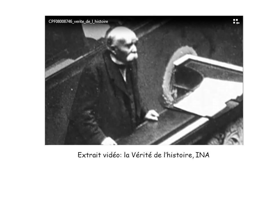 Extrait vidéo: la Vérité de l'histoire, INA