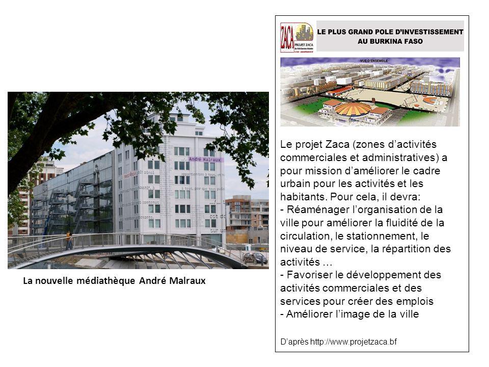 La nouvelle médiathèque André Malraux
