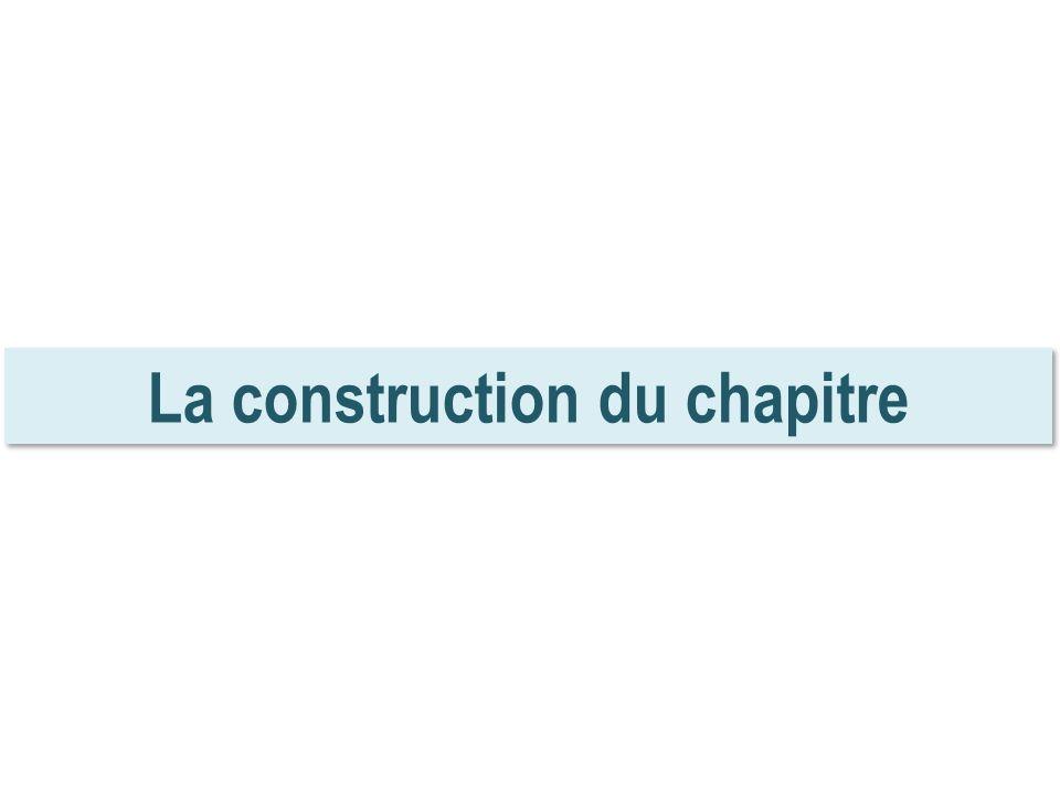 La construction du chapitre