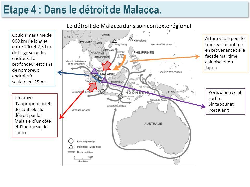 Le détroit de Malacca dans son contexte régional