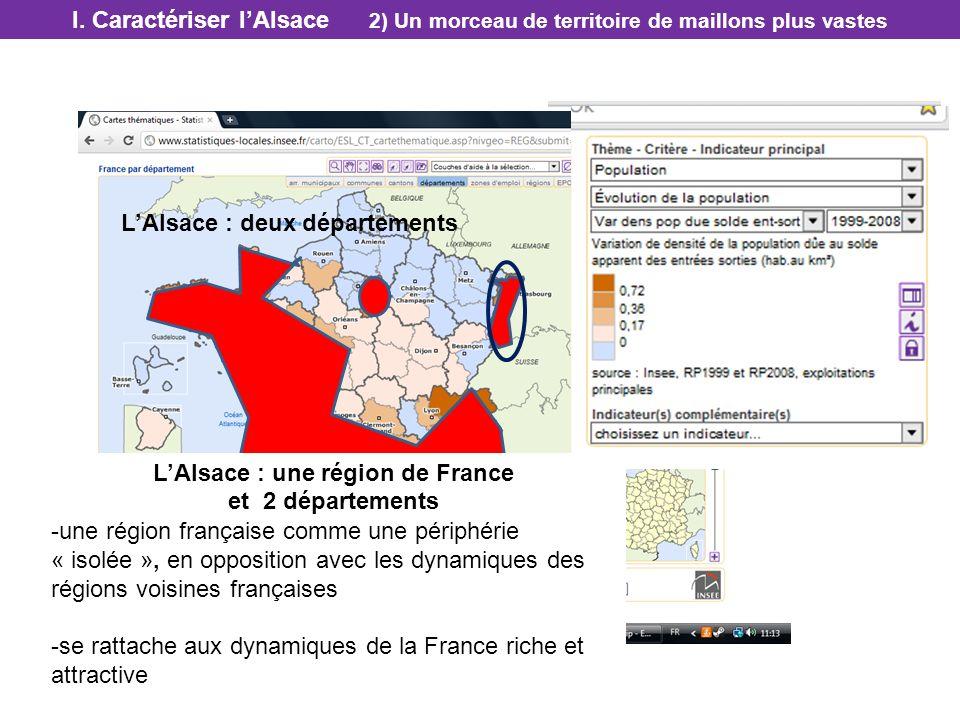 L'Alsace : une région de France