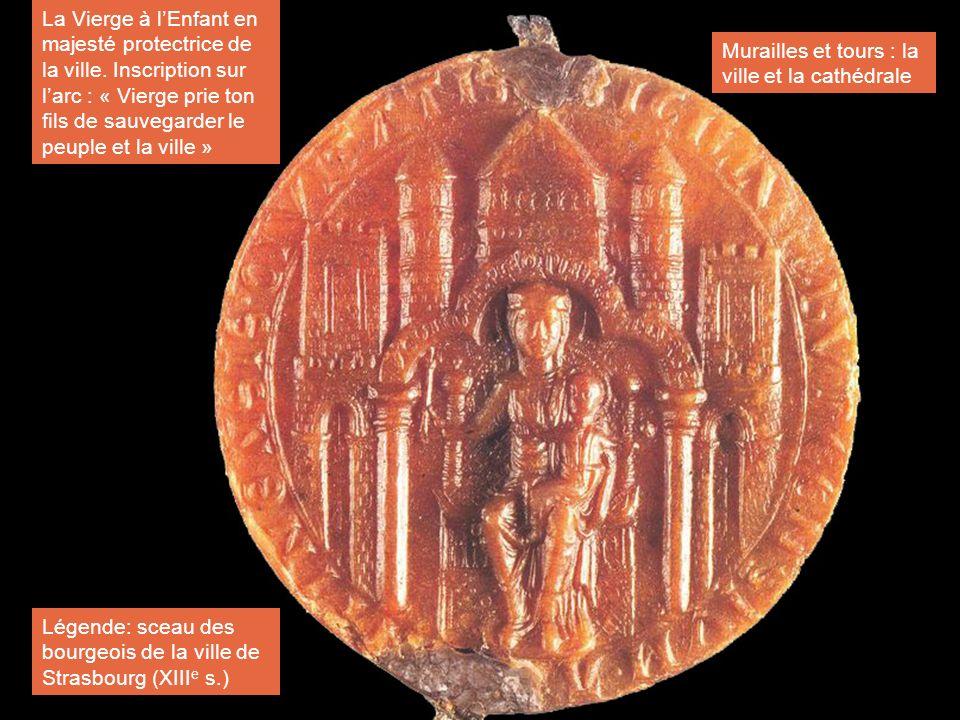 La Vierge à l'Enfant en majesté protectrice de la ville