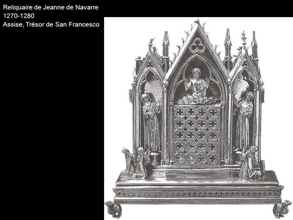 Reliquaire de Jeanne de Navarre