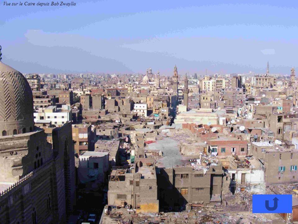 Vue sur le Caire depuis Bab Zwaylla