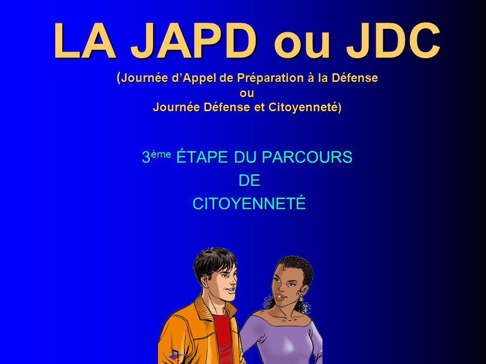 3ème ÉTAPE DU PARCOURS DE CITOYENNETÉ