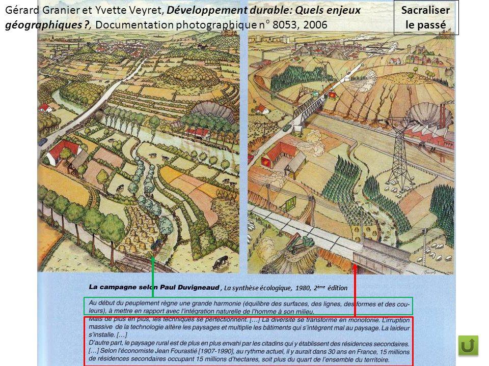 Gérard Granier et Yvette Veyret, Développement durable: Quels enjeux géographiques , Documentation photographique n° 8053, 2006