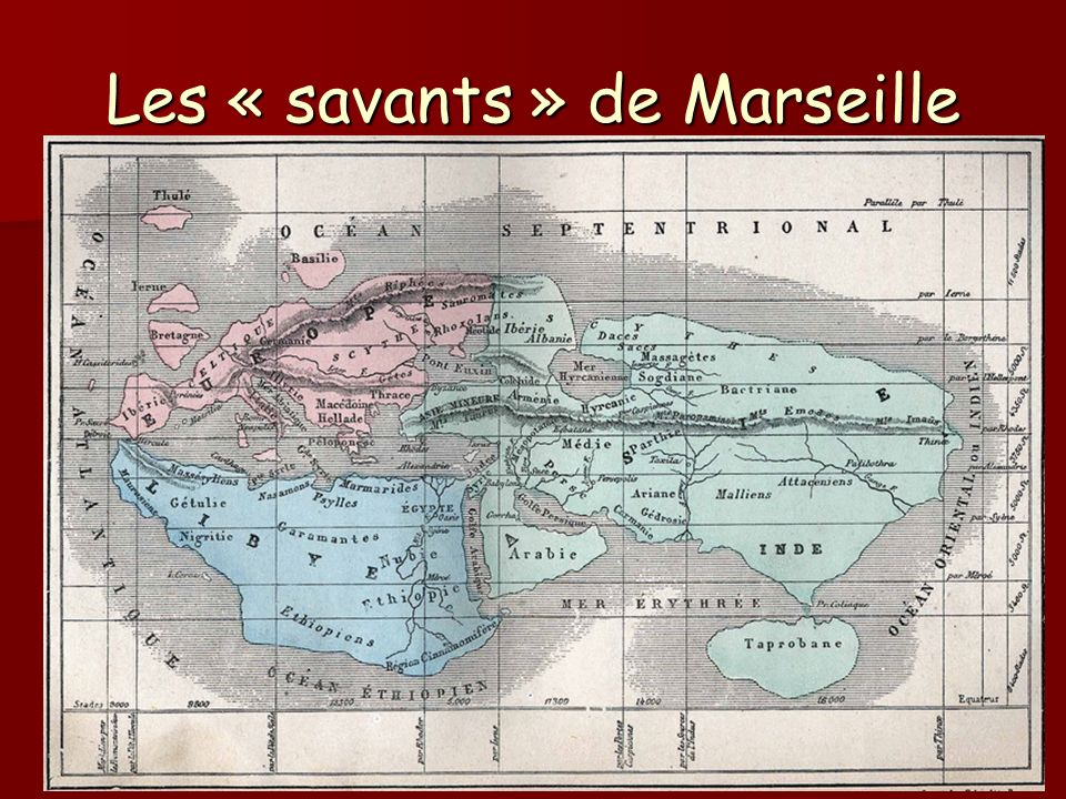 Les « savants » de Marseille
