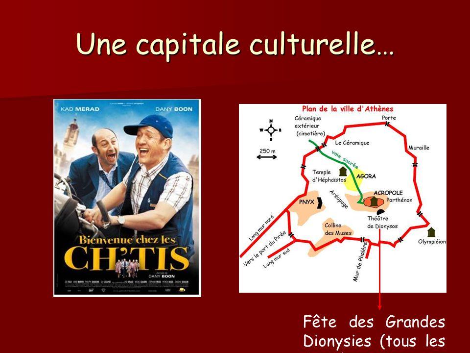 Une capitale culturelle…