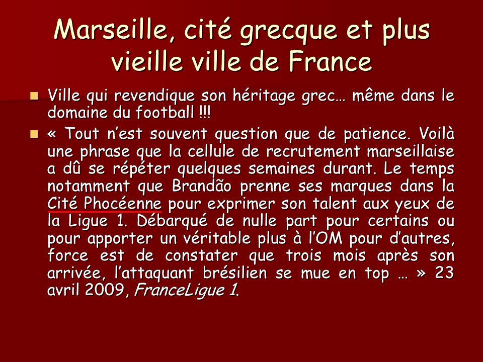 Marseille, cité grecque et plus vieille ville de France