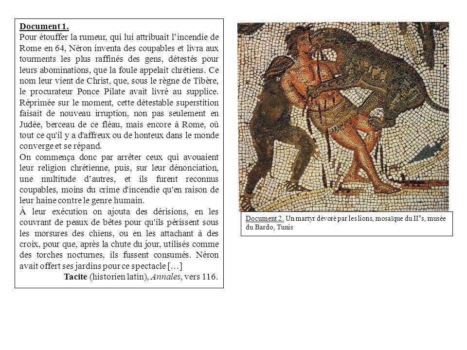 Tacite (historien latin), Annales, vers 116.