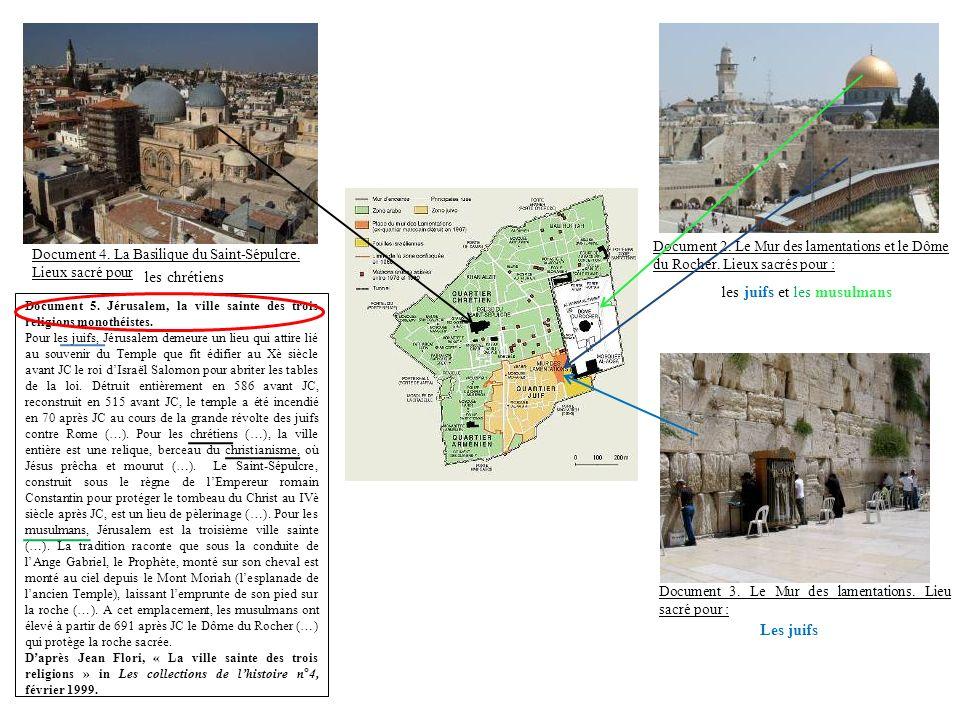 les juifs et les musulmans
