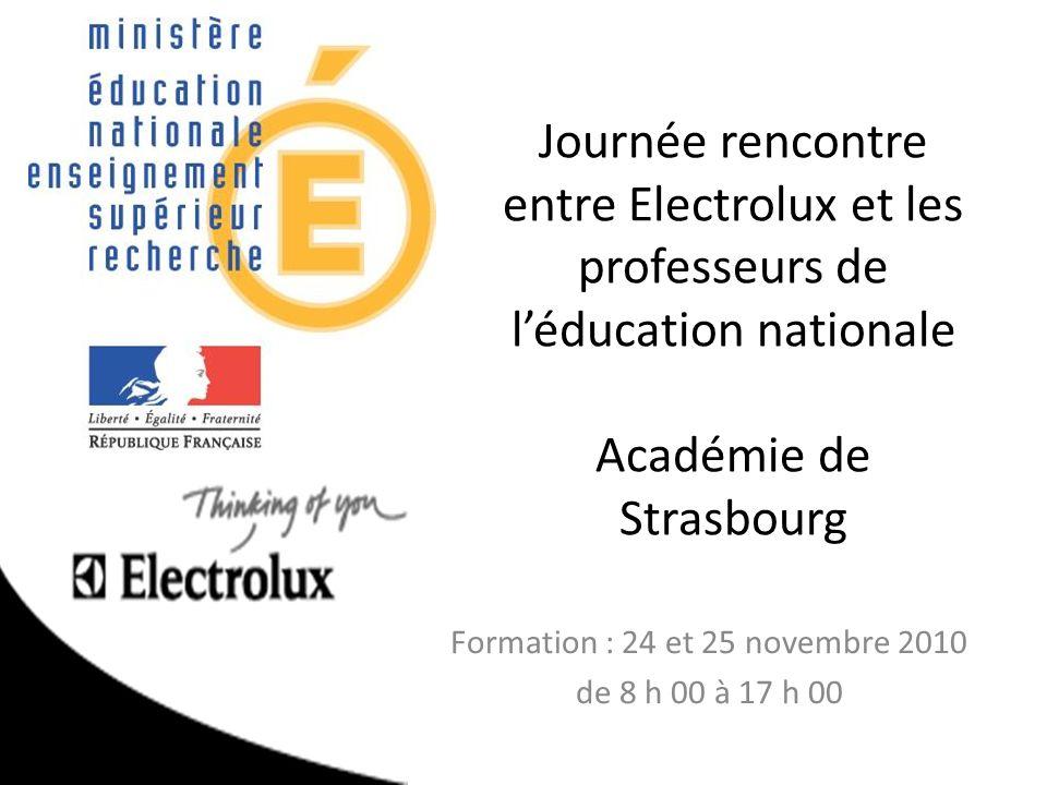 Formation : 24 et 25 novembre 2010 de 8 h 00 à 17 h 00