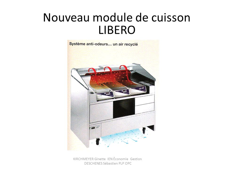 Nouveau module de cuisson LIBERO