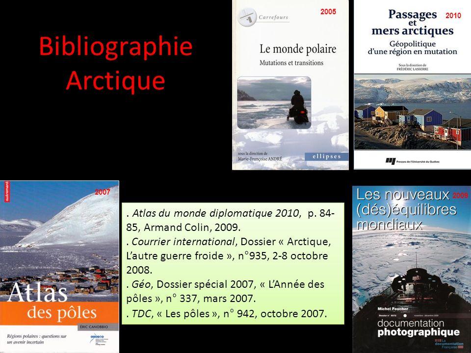 Bibliographie Arctique