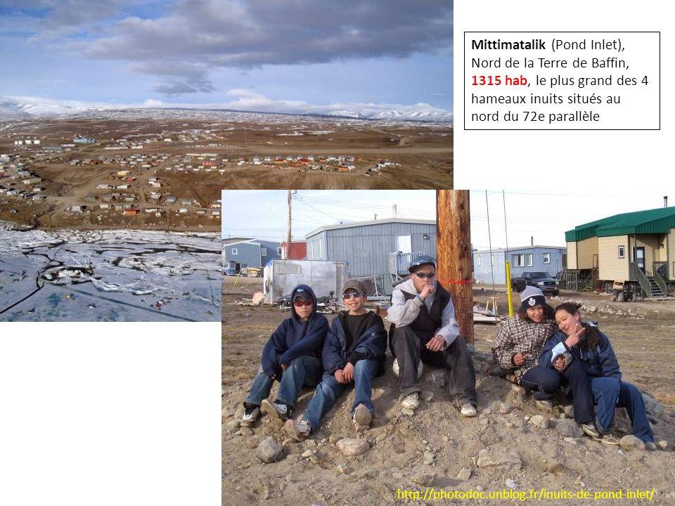 Mittimatalik (Pond Inlet), Nord de la Terre de Baffin,