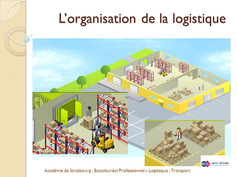 L'organisation de la logistique