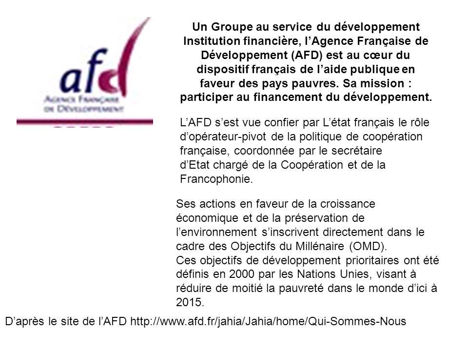 Un Groupe au service du développement