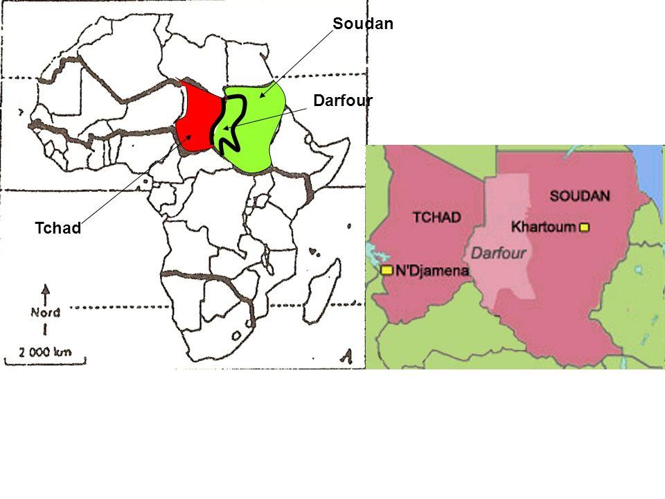 Soudan Darfour Tchad
