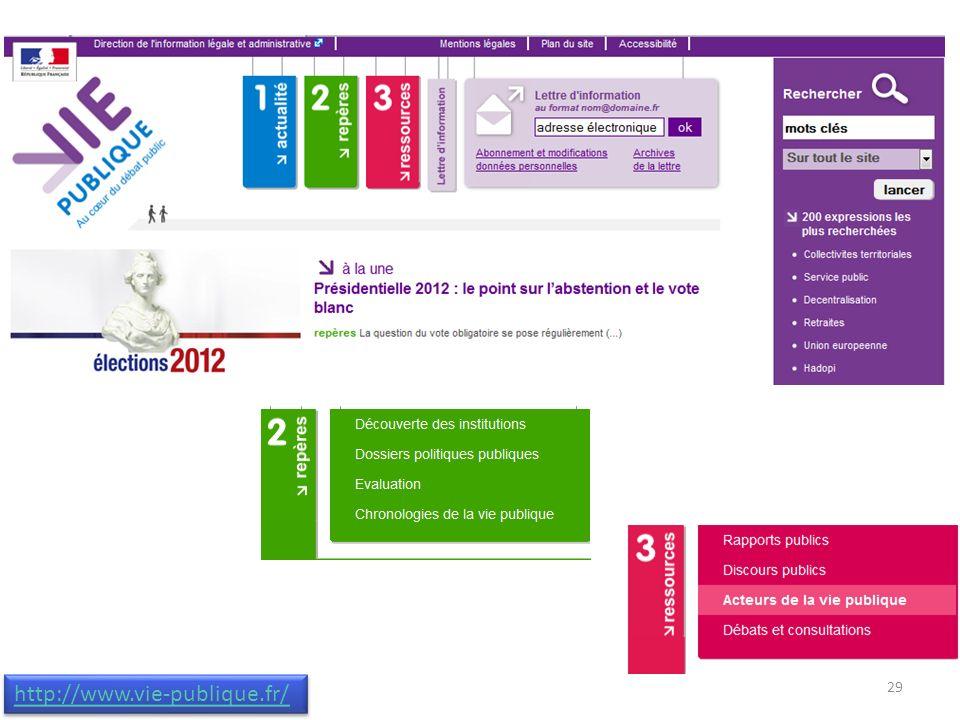 http://www.vie-publique.fr/