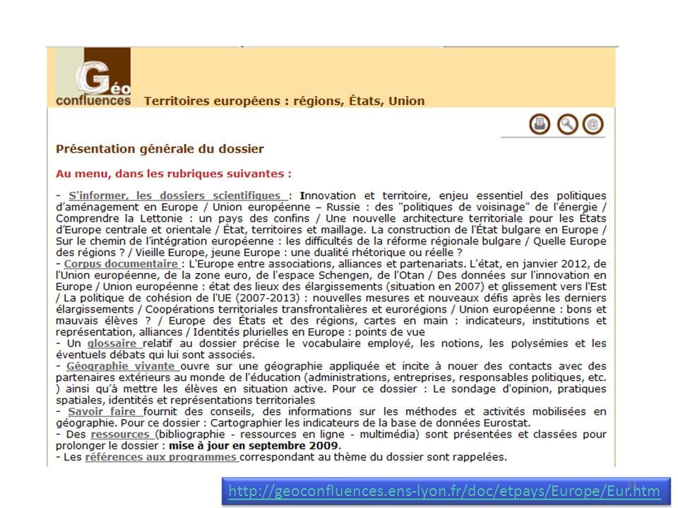 http://geoconfluences.ens-lyon.fr/doc/etpays/Europe/Eur.htm