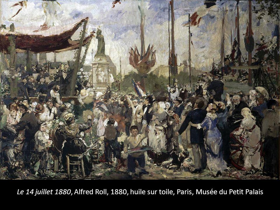 Le 14 juillet 1880, Alfred Roll, 1880, huile sur toile, Paris, Musée du Petit Palais