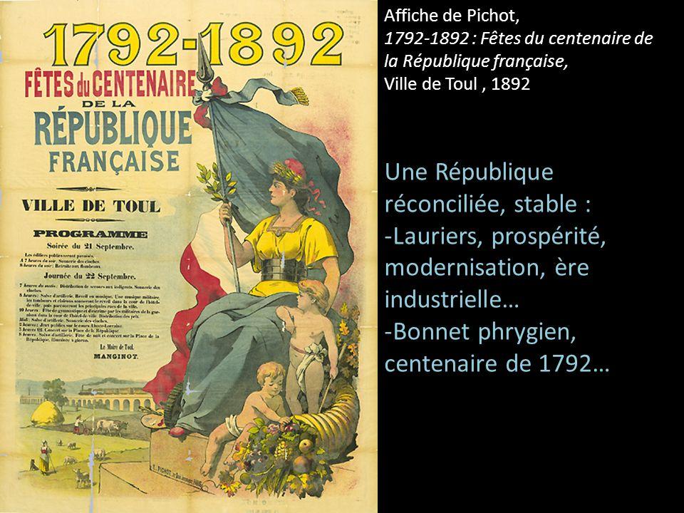 Une République réconciliée, stable :