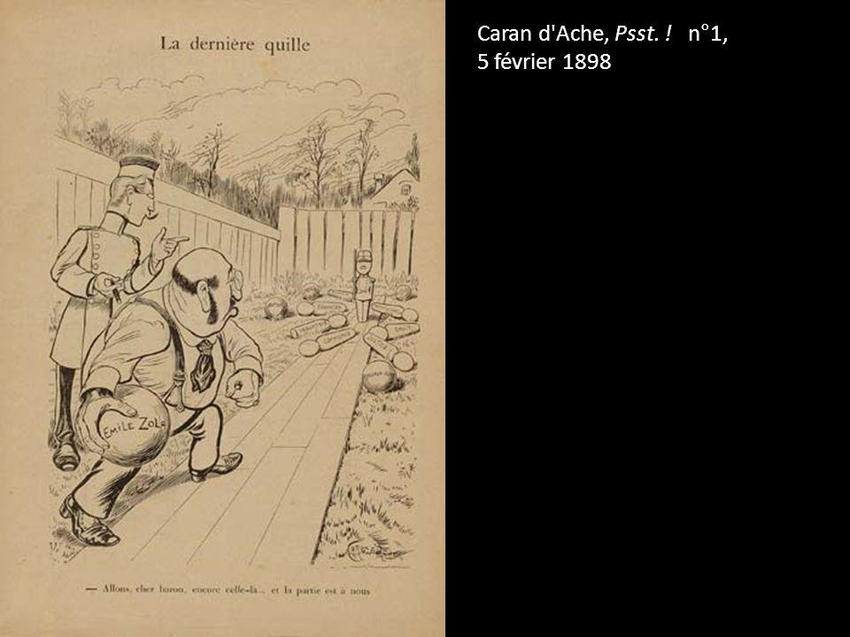 Caran d Ache, Psst. ! n°1, 5 février 1898