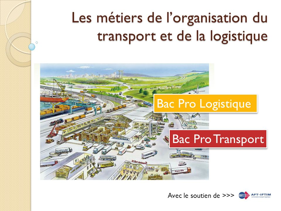 Metier logistique transport for Salon transport et logistique