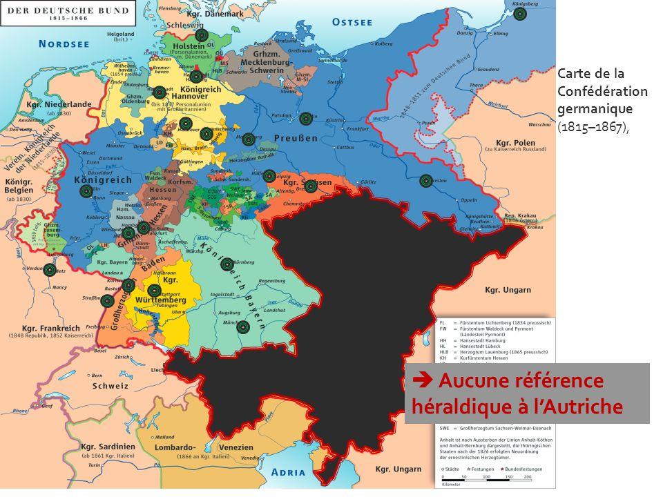  Aucune référence héraldique à l'Autriche