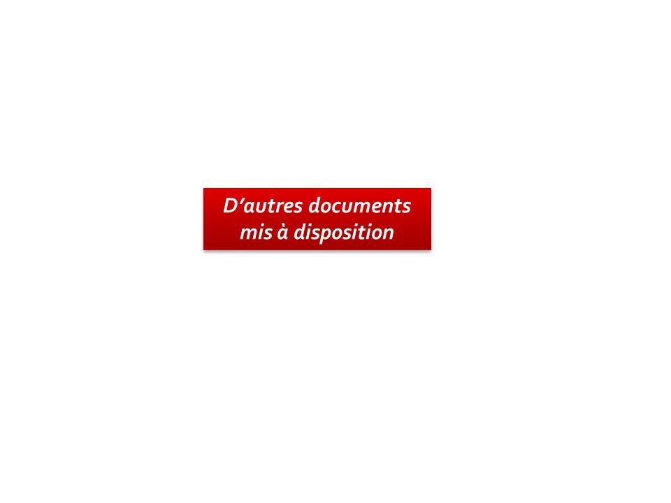 D'autres documents mis à disposition