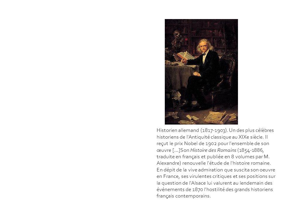 Historien allemand (1817-1903)