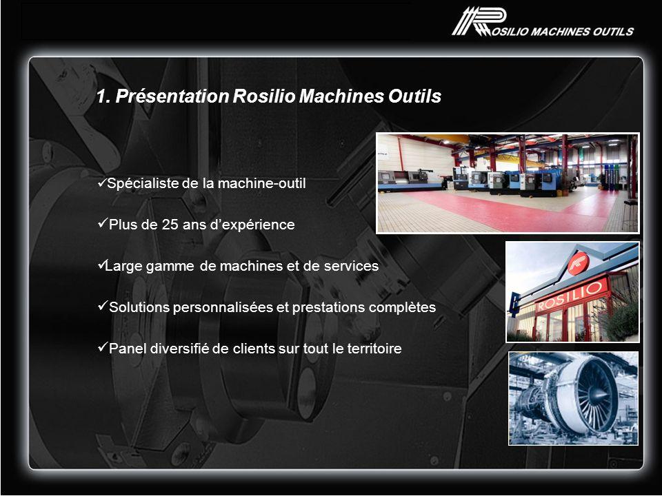 1. Présentation Rosilio Machines Outils