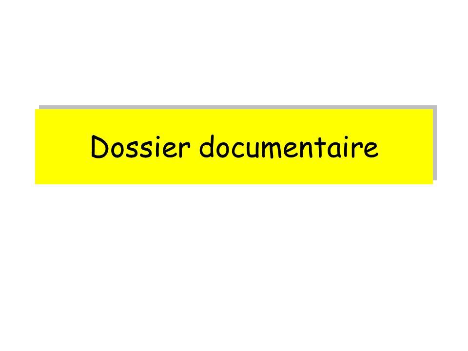 Dossier documentaire