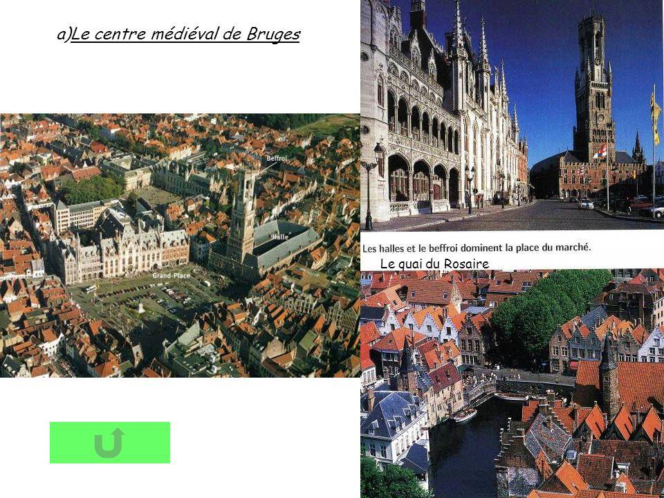Le centre médiéval de Bruges