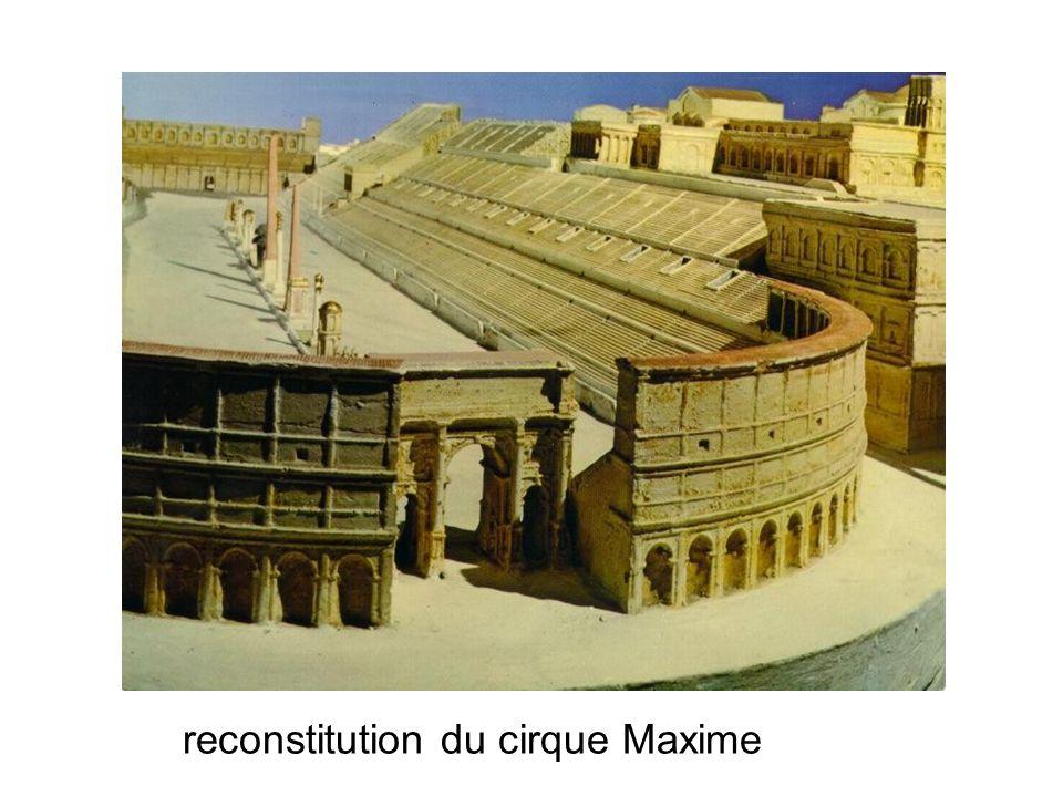 reconstitution du cirque Maxime