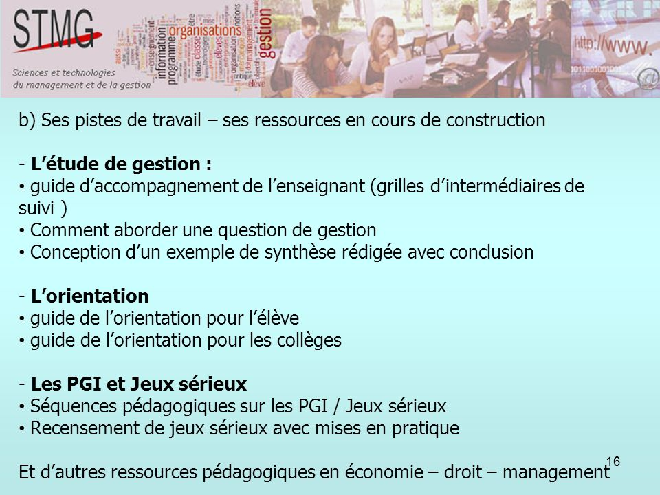 Question sur l'orientation 2nde Autre