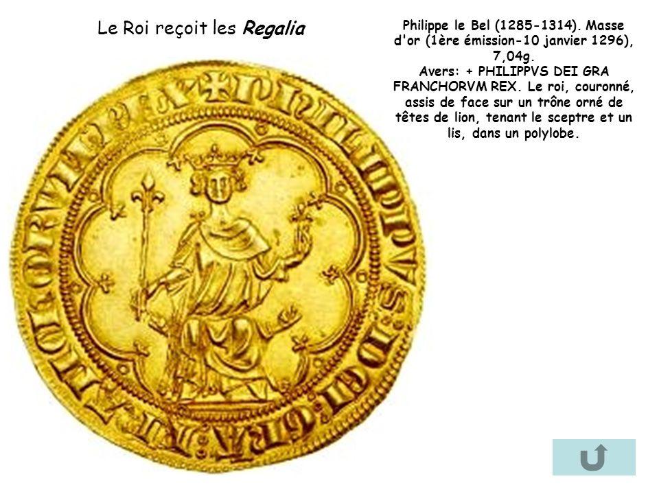 Le Roi reçoit les Regalia