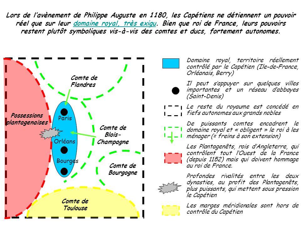 Possessions plantagenaises Comte de Blois-Champagne