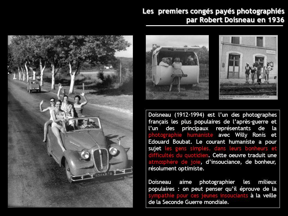 Les premiers congés payés photographiés par Robert Doisneau en 1936