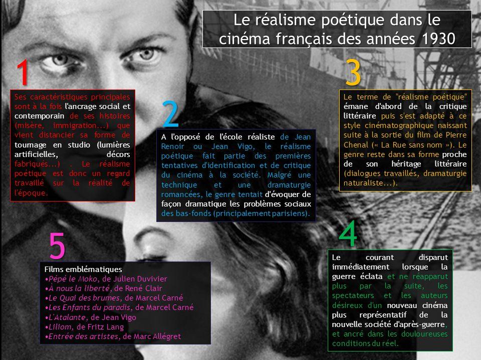 Le réalisme poétique dans le cinéma français des années 1930