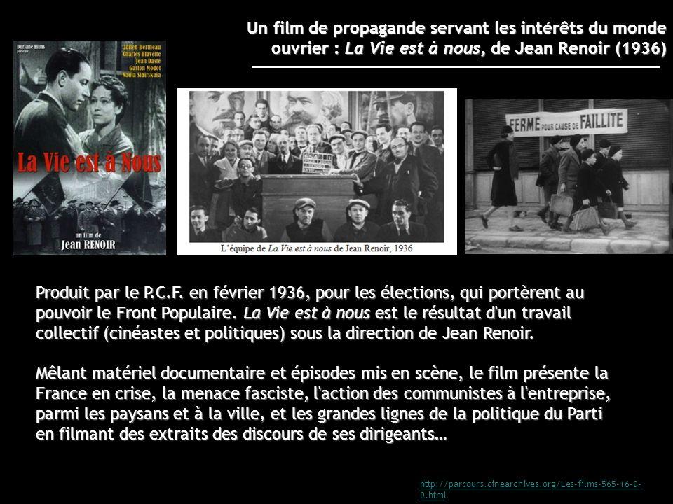 Un film de propagande servant les intérêts du monde ouvrier : La Vie est à nous, de Jean Renoir (1936)