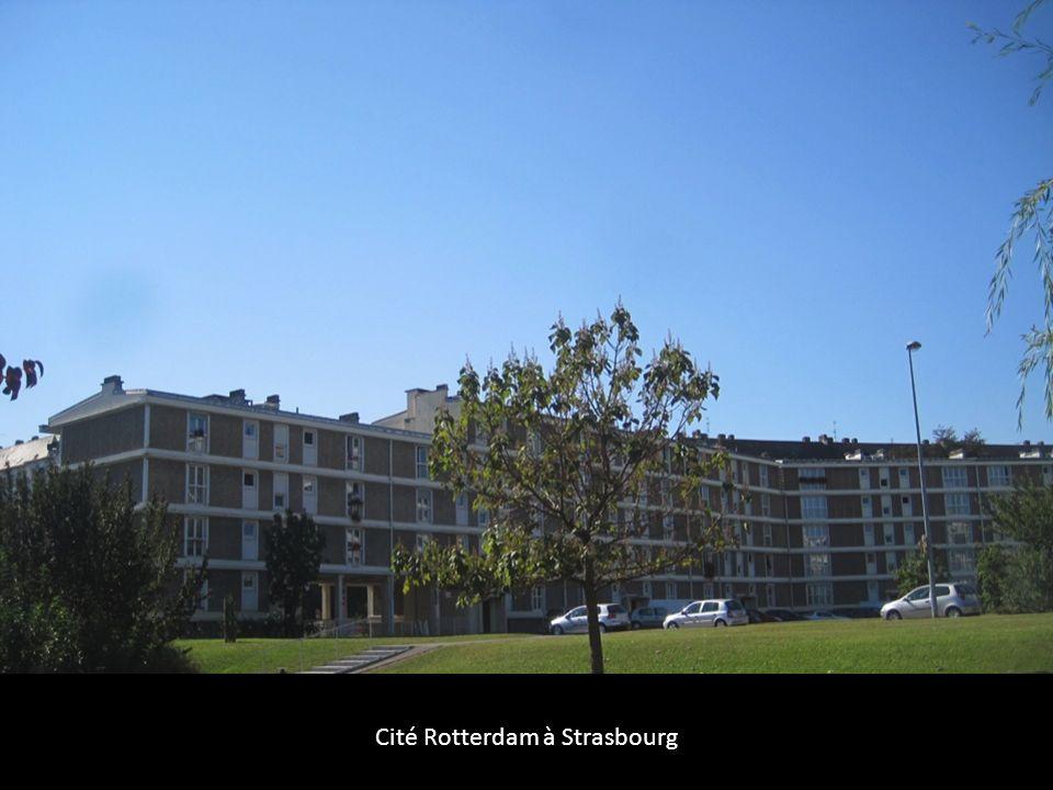 Cité Rotterdam à Strasbourg