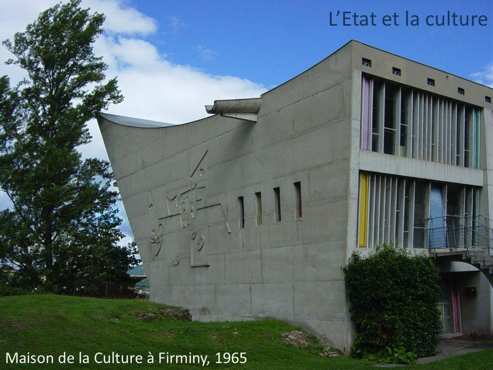 L'Etat et la culture Maison de la Culture à Firminy, 1965