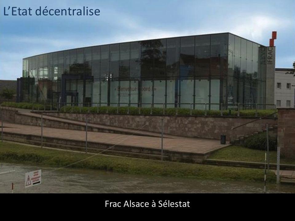 L'Etat décentralise Frac Alsace à Sélestat