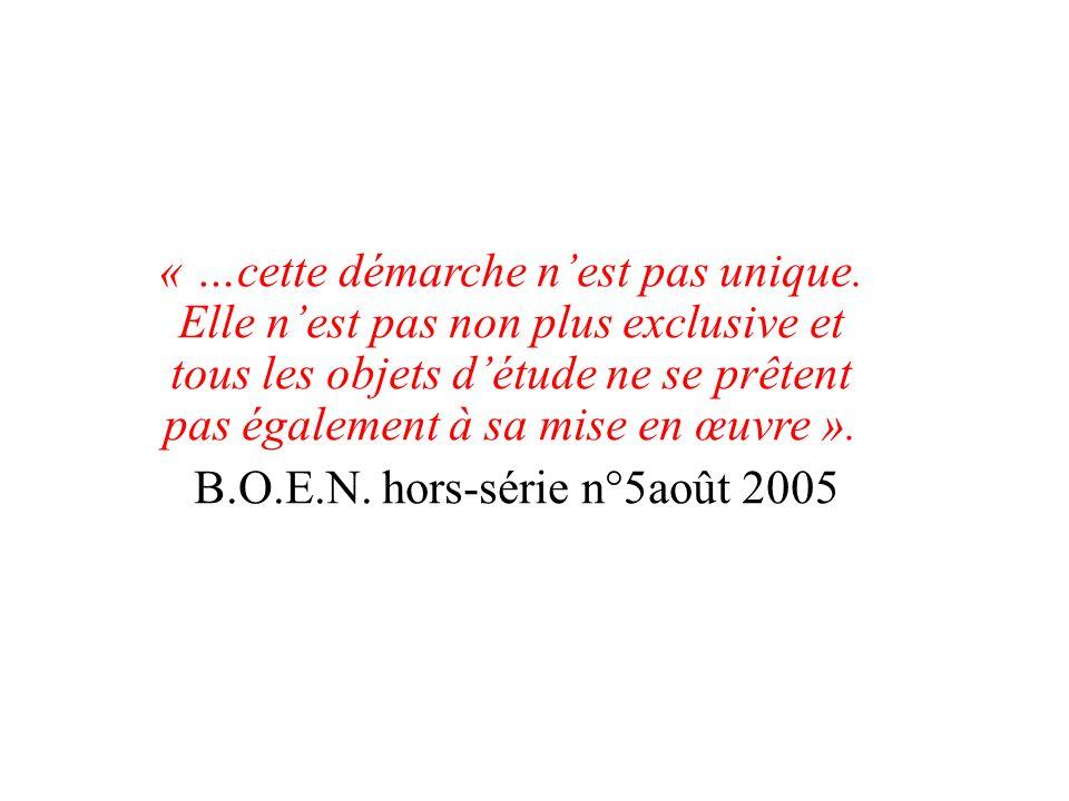 B.O.E.N. hors-série n°5août 2005