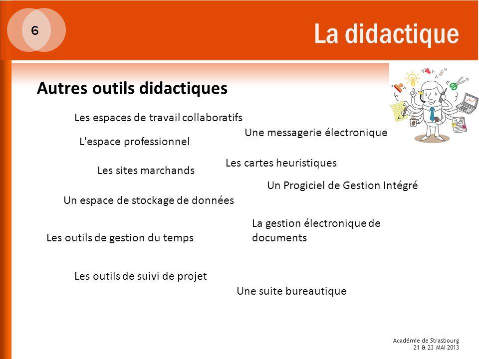 La didactique Autres outils didactiques 6