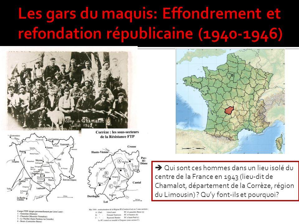 Les gars du maquis: Effondrement et refondation républicaine (1940-1946)