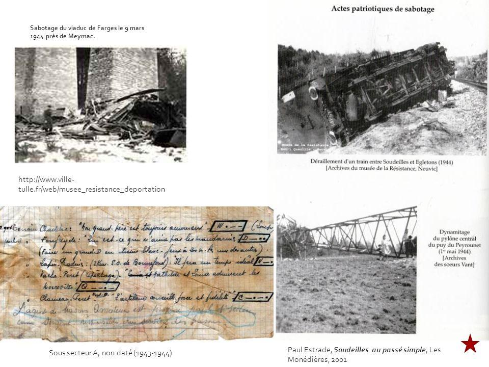 Sous secteur A, non daté (1943-1944)