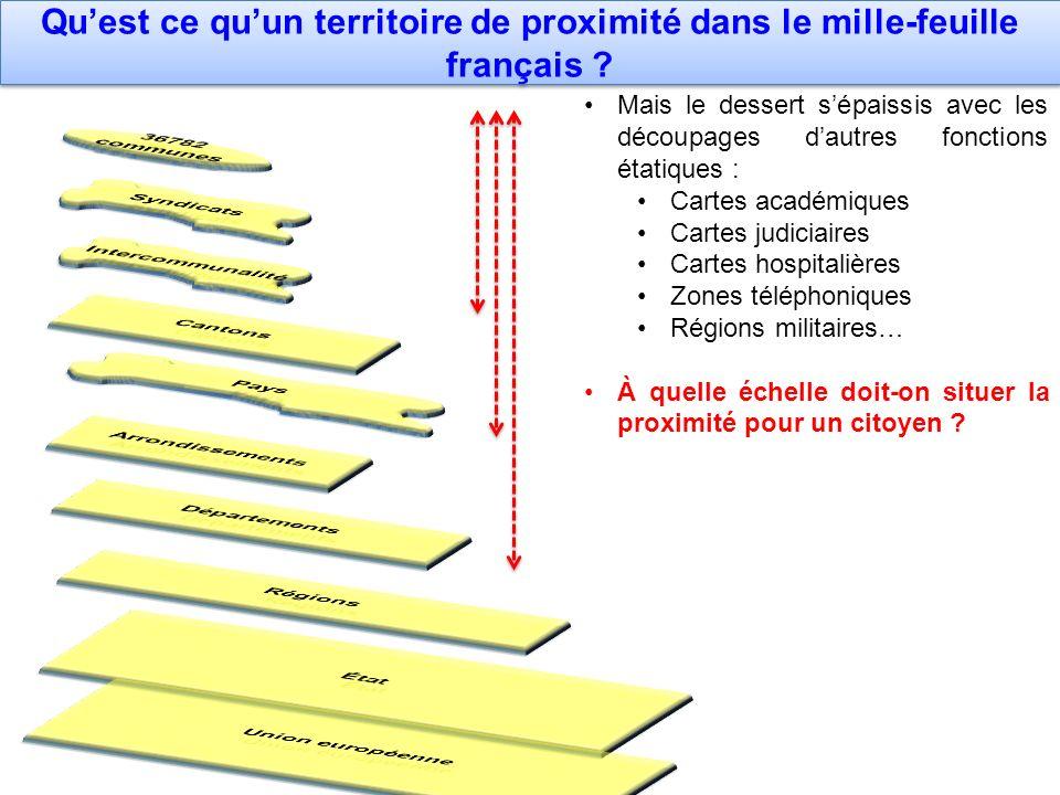 Qu'est ce qu'un territoire de proximité dans le mille-feuille français